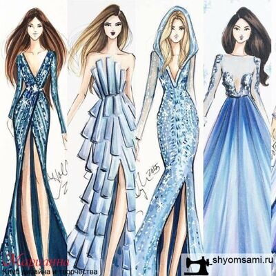 Курс Fashion иллюстрация (fashion sketching) в Москве